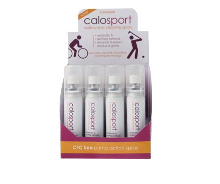 calosport anti static lens spray