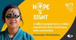 World Sight Day 2020 #HopeinSight